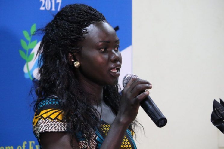 Mary Ajith, D/Chair, Association of Media Development, South Sudan