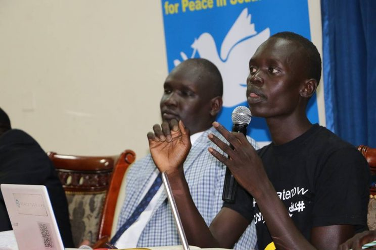 UNESCO Roundtable on Countering Hate Speech, Nelson Kwaje, Juba