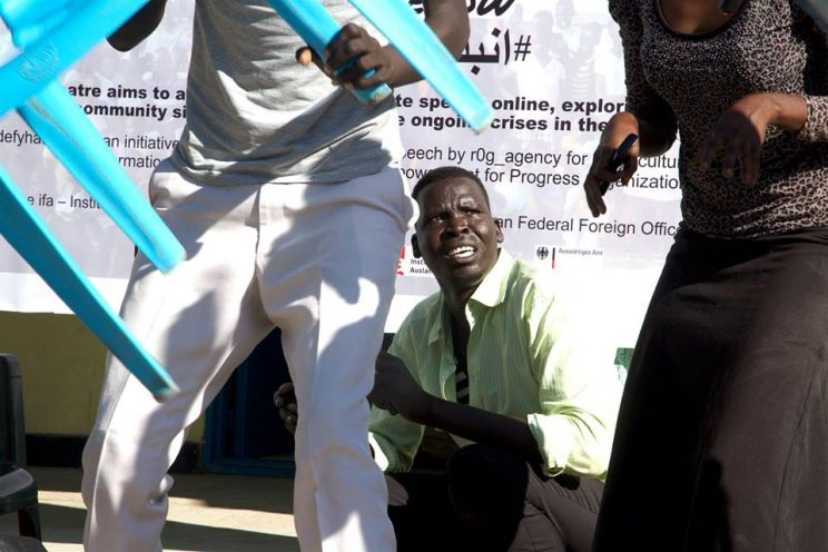 SSTO Street Theatre, Juba 4th Oct 2016 Photo: Hakim George