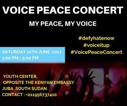 #VoicePeace Concert, Juba