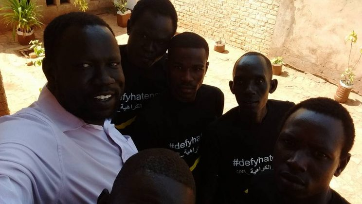 Using Wikipedia to #defyhatenow in Wau, South Sudan